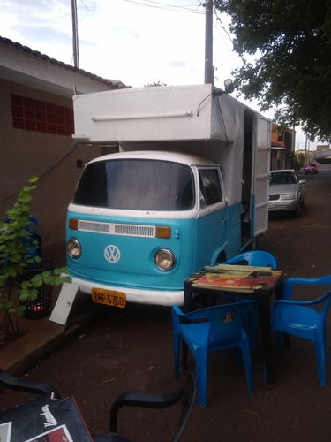 Kombi Food Truck Trailer Lanche