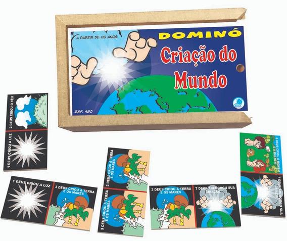 Jogo De Dominó Criação Do Mundo + Memória Passagens Bíblicas