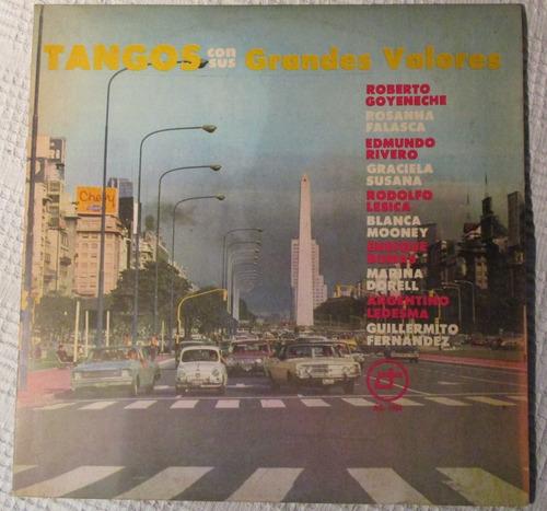Imagen 1 de 4 de Tangos Con Sus Grandes Valores. Tangos En Argentina 78