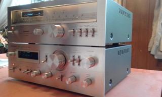 Amplificador Pionner Sa7800 Sintonizador Pionner Tx7800 Joya