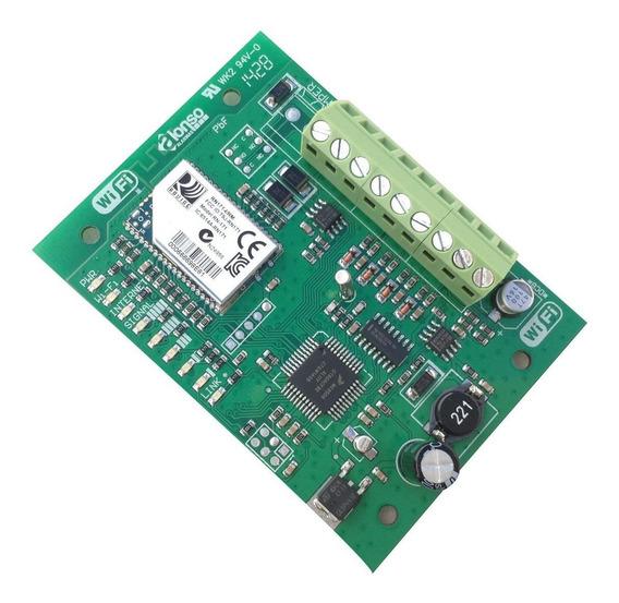 Módulo De Comunicación Ip-400 + Wifi+ 12 Cuotas Para Alarmas