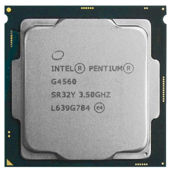 Pentium Dualcore G4560 Socket 1151 3.5 Ghz Oem Com Garantia