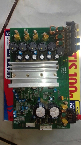 Placa Amplificadora Som Philips Fwm603x78