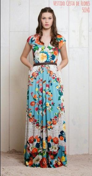 Vestido Antix Cesta De Flores P