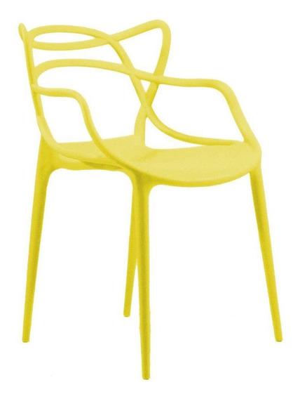 Cadeira Byartdesign Mix Amarelo