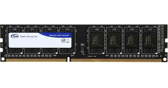 Memoria Ram Team Group Ddr3 8gb 1600mhz Dimm Nueva Sellada