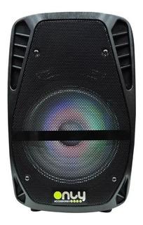 Parlante Bt Portatil Karaoke 304 C/ Micrf 8 - Only