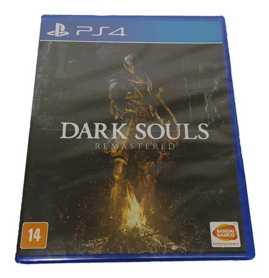 Jogo De Ação Dark Souls Remastered Ps4 -legendas Pt-br