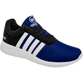Tenis Sneaker Been Class Niños Sintético Azul 98997 Dtt