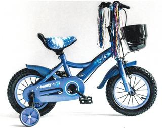 Bicicleta Reynolds 7914 Rod. 12 Paseo Nena C/camara