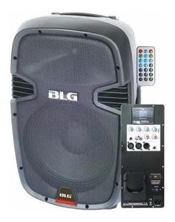 Blg Rxa12p 180w Usb Bluetooth Bafle Activo Portatil - Oddity