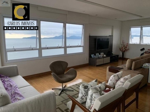 Belíssimo Apartamento Vista Mar Em Santos, Com 380m², Design Diferenciado, - 20