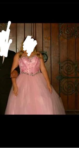Vestido De 15 Rosa