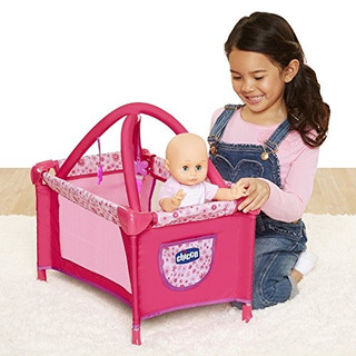 Chicco Deluxe Corralito De Bebé Para Muñecas Color Rosa