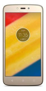 Moto C Plus Dual SIM 16 GB Ouro-fino 1 GB RAM