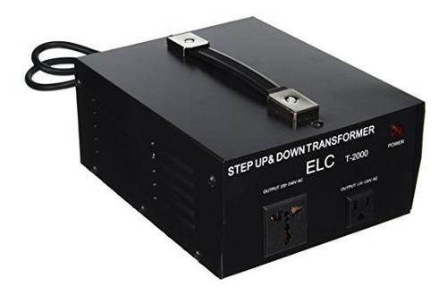 Transformador Voltaje Convertidor Elc Ac 110v - 220v 2000 W