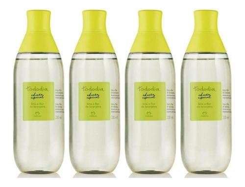 Spray Perfumado X4 Lima Y Flor De Naranja Tododía Natura