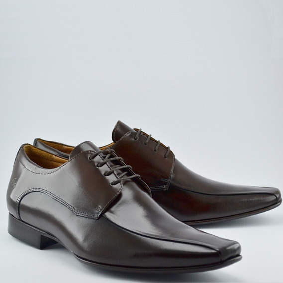 Sapato Social Infinity Derby Brown, Never Give Up Collection