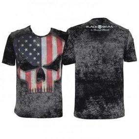Camiseta Tshirt Branch Warren - Black Skull Pronta Entrega