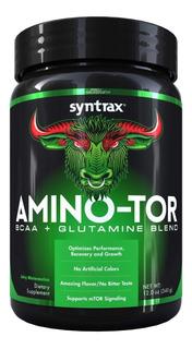 Amino-tor Bcaa + Glutamina (340g) Syntrax - Todos Os Sabores
