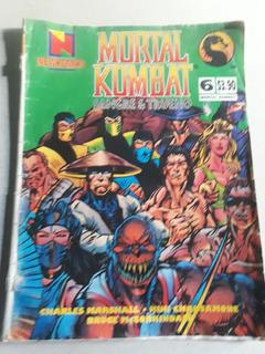 Revista Mortal Kombat N° 6 - Newkomiks Febrero De 1995