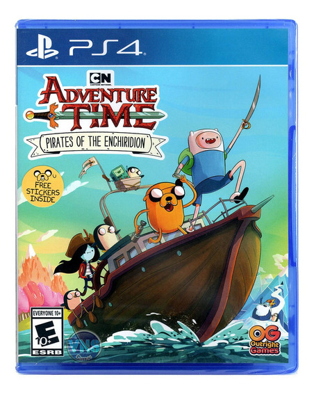 Adventure Time Pirates Of The Enchiridion - Ps4 Mídia Física