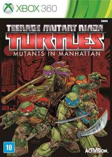 Teenage Mutant Ninja Turtles - Xbox 360 Mídia Física
