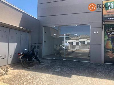 Salão Para Alugar, 54 M² Por R$ 1.600/mês - Conserva - Americana/sp - Sl0219