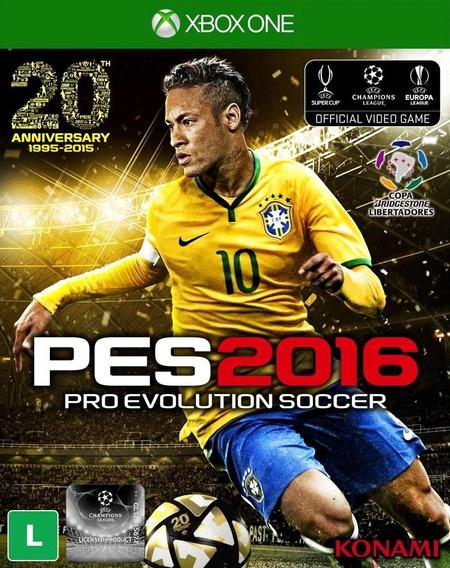 Jogo Pro Evolution Soccer 2016 Pes16 Xbox One Mídia Física