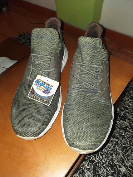 Zapatos Skechers Slip On Nuevo Modelo Talla 11