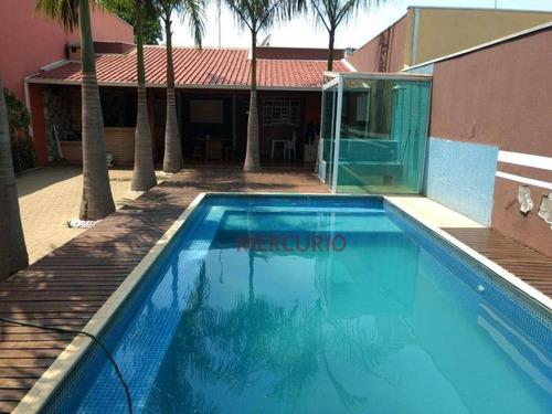 Imagem 1 de 14 de Chácara Com 2 Dormitórios À Venda, 250 M² Por R$ 385.000,00 - Vale Do Igapó - Bauru/sp - Ch0150