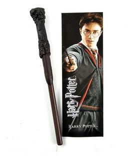 Lápiz Varita Mágica Y Separador Libros Harry Potter