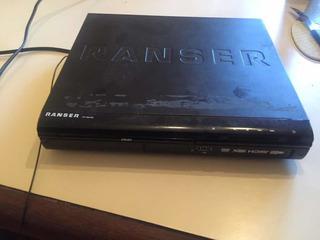 Reproductor Dvd Ranser Con Hdmi Y Usb