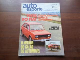 Revista Auto Esporte - Ford Rural Jeep F-100
