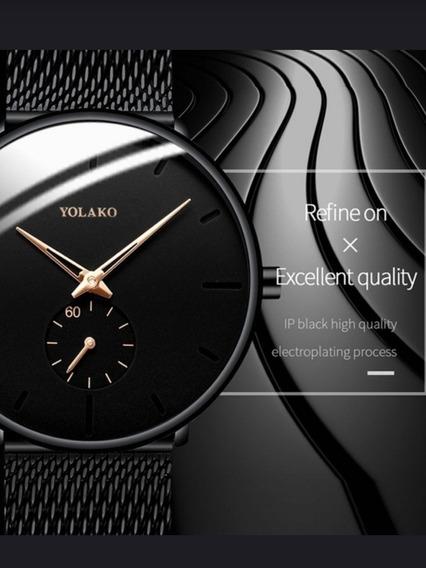 Relógio Clássico Black