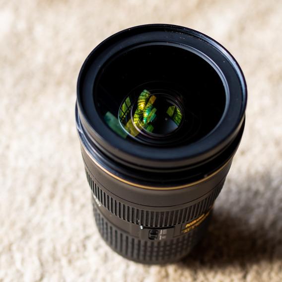 Lente Nikon 24-70mm F/2.8g Ed Af-s (seminova)