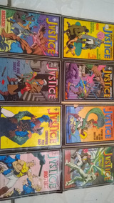 Histórias Em Quadrinhos Justice, Raro Do N° 01 Ao 08 Comics