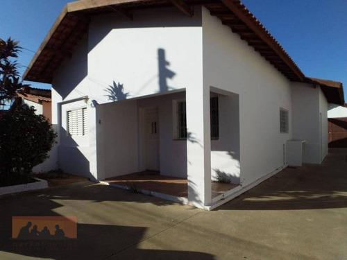 Imagem 1 de 21 de Casa Com 3 Dormitórios Para Alugar, 155 M² Por R$ 2.600,00/mês - Barão Geraldo - Campinas/sp - Ca2072