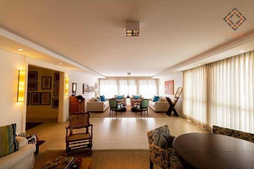 Apartamento Com 4 Dormitórios À Venda, 354 M² Por R$ 4.930.000,00 - Jardim América - São Paulo/sp - Ap48655