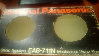 Juego De Parlantes , Marca National Panasonic Modelo Eab-711