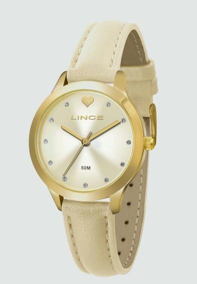 Relógio Feminino Lince Lrc4508l Analógico Quartz Casual