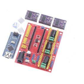Kit Impressora 3d Arduino, Escudo V4, Ramps Drv8825