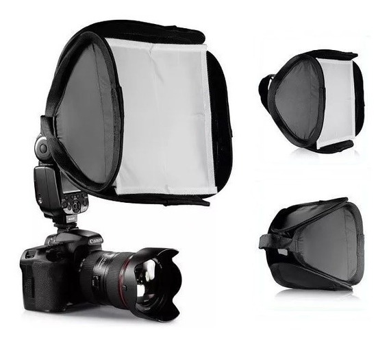 Mini Softbox 23cm Para Flash Speedlight Canon Nikon Yongnuo