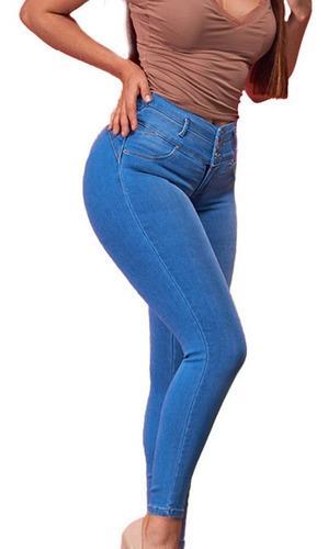 Pantalones Colombianos Jeans Dama Mezclilla Mujer Moda 19 J Mercado Libre