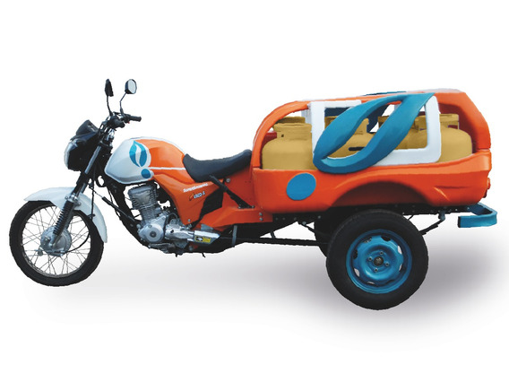 Triciclo Fusco Motosegura Gás Titanio Supergasbras 2020/2020