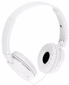 Fone De Ouvido Headphone Sony Preto E Branco Mdr-zx110