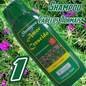 Kit(n)c/ 3 Und. Xampu Amor Crescido Origem Amazonas100% Orig