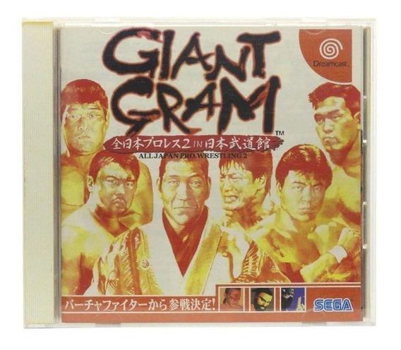 Giant Gram All Japan Prowrestling 2 Dreamcast Japonês Física