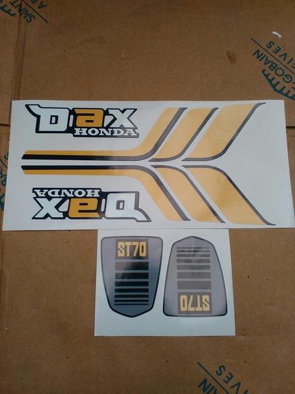Honda Dax Calcos De Linea Año 81