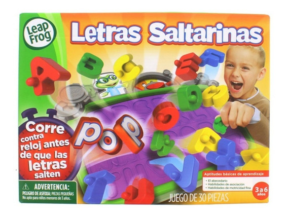 Juego Leap Frog Letras Saltarinas (7026)